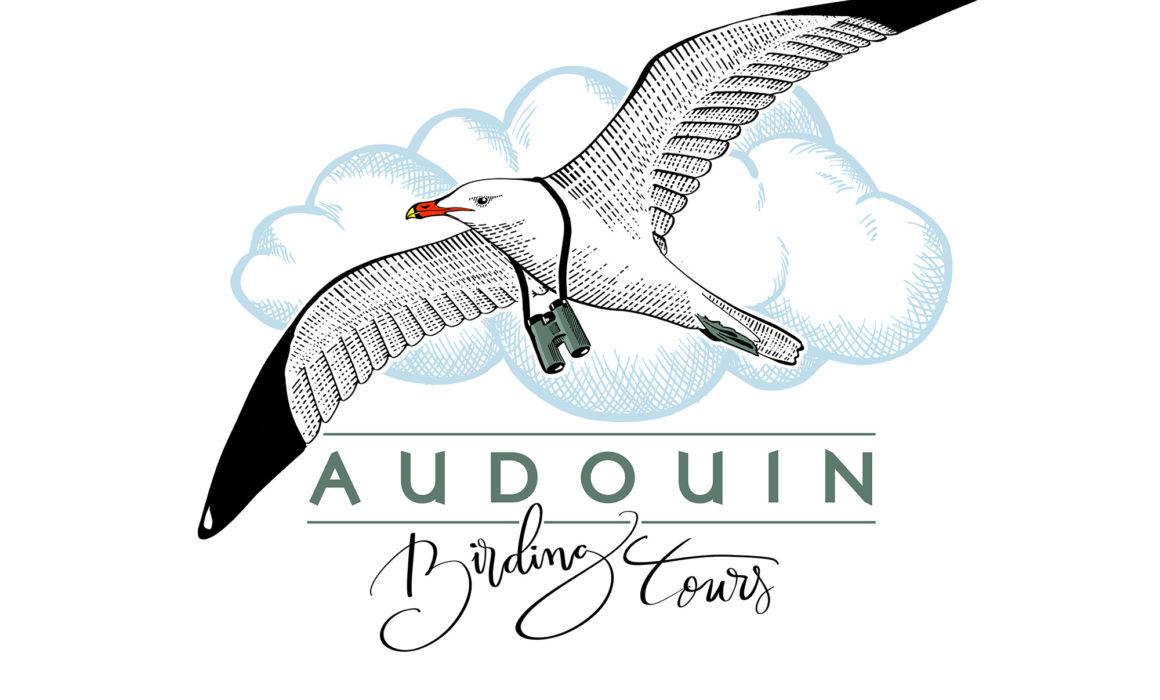 LOGO AUDOUIN BIRDING TOURS