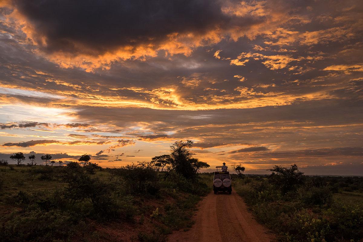 Sunset-Uganda